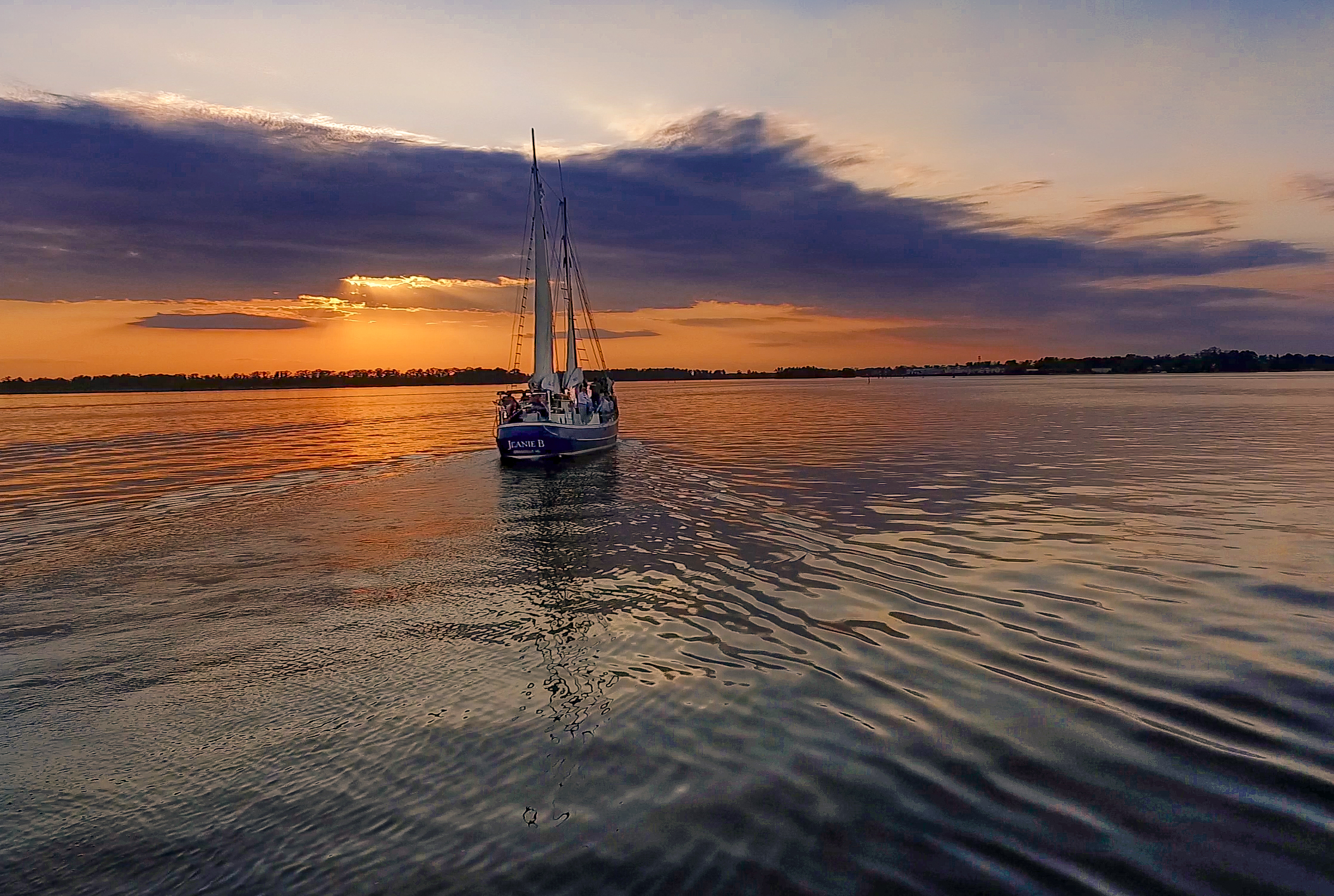 Sailing on the Pamlico River